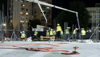 RADI SE I NOĆU: Ovako izgleda gradnja Naučno-tehnološkog parka na Limanu (FOTO)