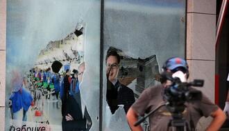 MUP: Bačkopoljcu krivična prijava zbog napada na dopisnika RTS-a tokom protesta u NS