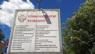 U Kliničkom centru Vojvodine manje kovid pacijenata nego juče
