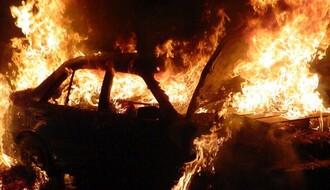 Zapaljen automobil u Novom Sadu