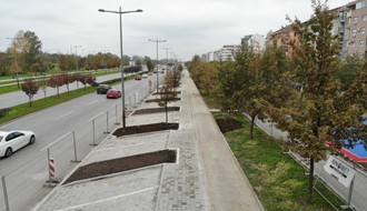 FOTO: Od ulice Janka Veselinovića do Futoškog puta biće izgrađeno 201 parking mesto