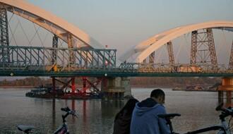 FOTO: Spojeni lukovi Žeželjevog mosta