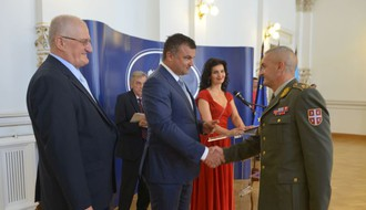 FOTO: Prijem povodom Dana rezervnih vojnih starešina Srbije