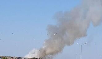 FOTO i VIDEO: Gori novosadska deponija
