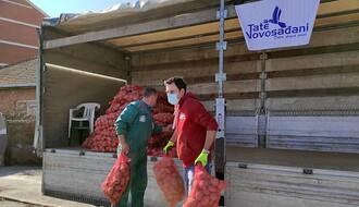 """""""Tate Novosađani"""" u akciji spasavanja poljoprivrednika koje je ugrozio uvoz (FOTO)"""