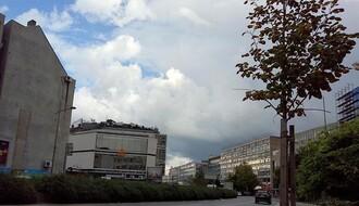 Promenljivo oblačno i kišovito, najviša dnevna u NS oko 25°C