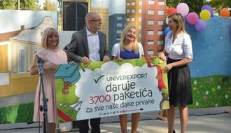 FOTO: Održan prijem prvaka i podela paketića Univerexporta u OŠ Dušan Radović