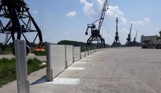 Završena rekonstrukcija odbrambene linije grada za zaštitu od visokih vodostaja Dunava