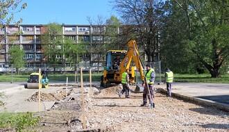 FOTO: Radovi na izgradnji parkirališta kod Štranda ušli u drugu fazu