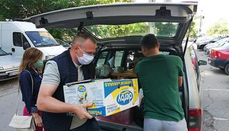 FOTO: Donacija tokom epidemije za Svratište za decu i mlade