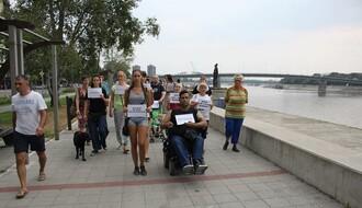 Povorka tišine - treći put u odbrani Dunava