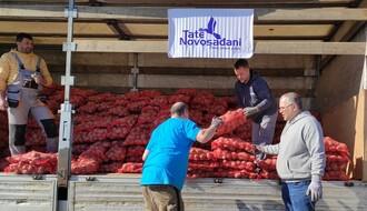 """""""Tate Novosađani"""" u novoj humanitarnoj akciji prodaje krompira (FOTO)"""