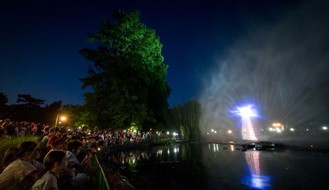 FOTO & VIDEO: Piknik u parku, projekcija na vodi, koncert na trgu...