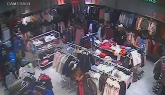 """VIDEO: Dve kradljivice """"operišu"""" u tržnom centru BIG"""
