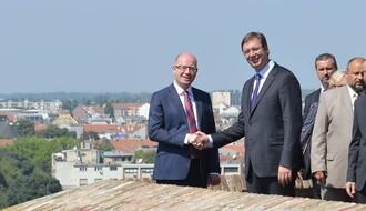 Evo šta su premijeri Vučić i Sobotka radili u Novom Sadu: Privredni forum u Titovom salonu