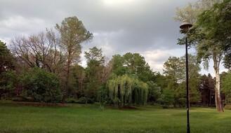 Promenljivo oblačno, mestimično s kišom, najviša dnevna u NS oko 26°C