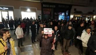 """Aida Ćorović i Čedomir Čupić u petak na protestu """"Poziv u bojkot"""""""