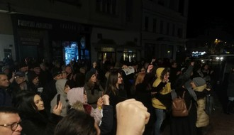 S protesta poručeno: Istinska politička borba je bojkot izbora (FOTO i VIDEO)