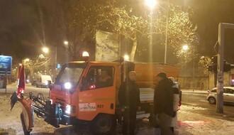 Čiste se trotoari i pešačke staze, Novi Sad spreman i za ledenu kišu