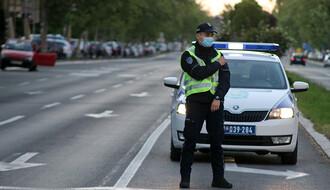 MUP: Za vikend u Novom Sadu osam saobraćajki, dve osobe teže povređene