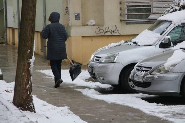 RHMZ izdao upozorenje na nove snežne padavine