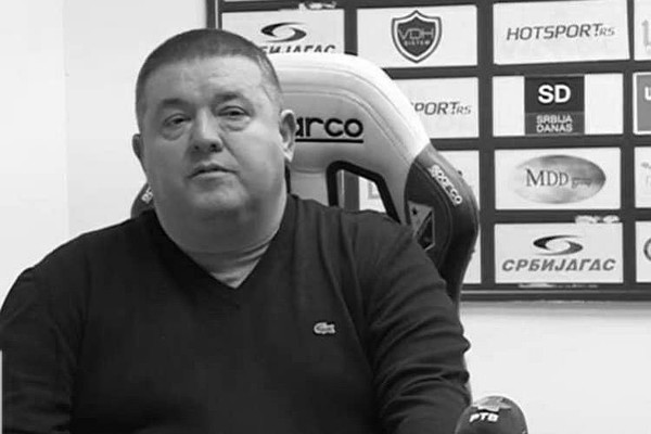 "Preminuo Milan Kosanović, sportski direktor FK ""Vojvodina"""