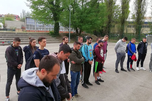 "FOTO: Počeo memorijalni turnir u znak sećanja na studenta nastradalog  u ""Kontrastu"""