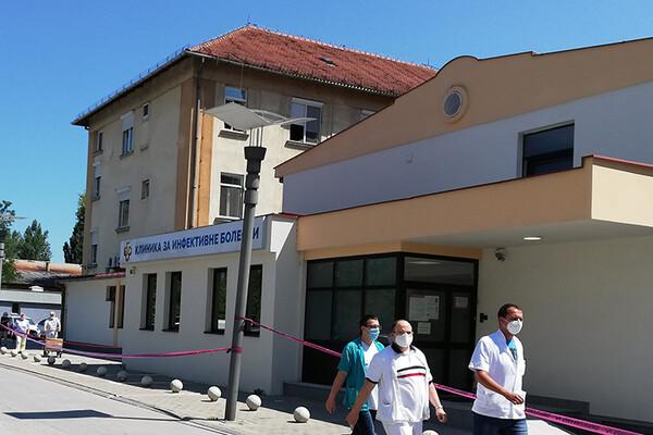 Sve manje obolelih od korone u novosadskim bolnicama