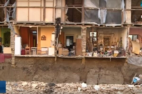 RTV: Srušio se deo zgrade na Salajci