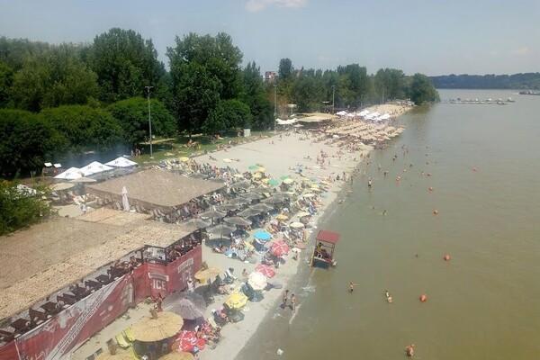 Porast vodostaja Dunava usporava uklanjanje otpada sa Štranda
