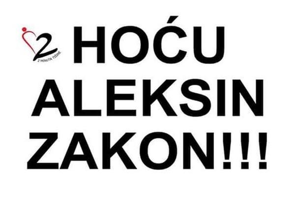 """U nedelju protest za """"Aleksin zakon"""" u devet gradova"""