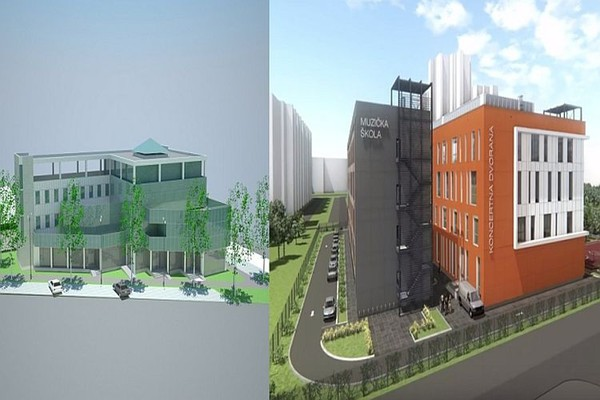 Tenderi za izgradnju zgrada Hitne pomoći i Muzičko-Baletske škole i dalje na čekanju