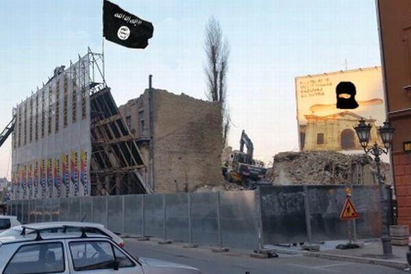 "Predmet podsmeha: ""Islamska država zauzela Novi Sad"""