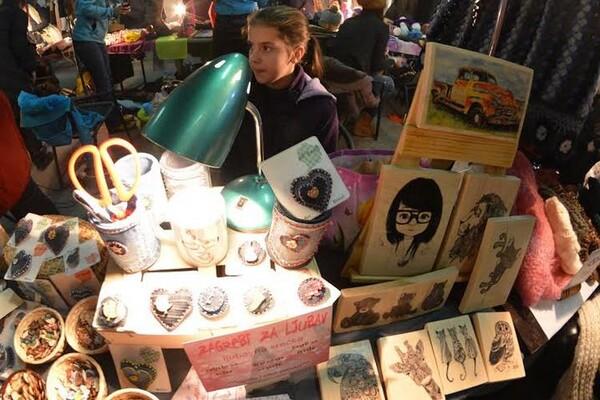 Artscape bazar: Vikinške cipele i privesci od oraha (FOTO i VIDEO)