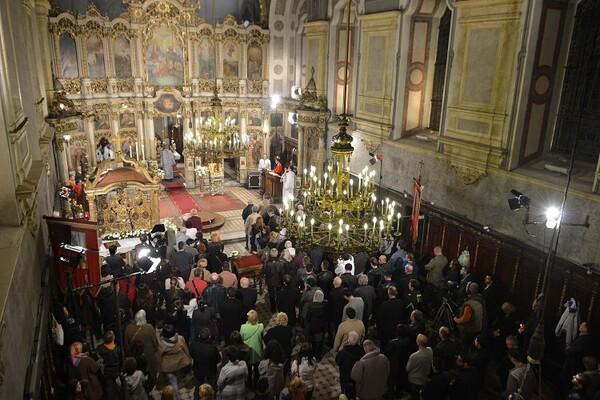 FOTO: Održana Vaskršnja liturgija  u Sabornoj crkvi