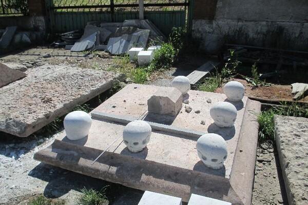 Restauracija spomenika porodici Čenezi (FOTO)
